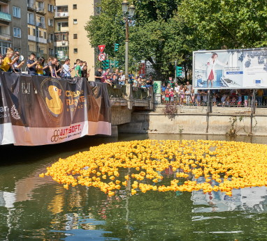 Duck Race Rotaract Triumph 2018